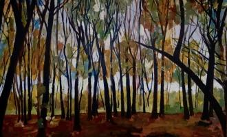 Into the Woods 120x80cm