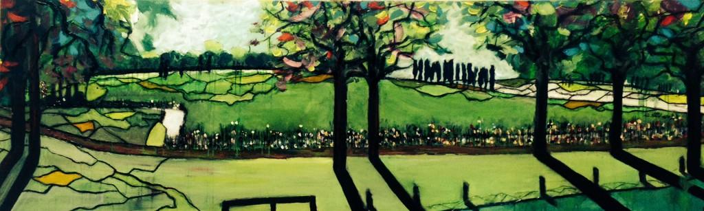 panoramaschilderij