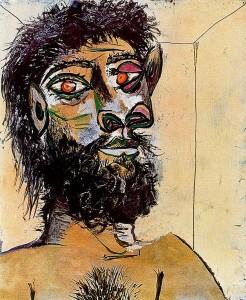 Faun Louis portret