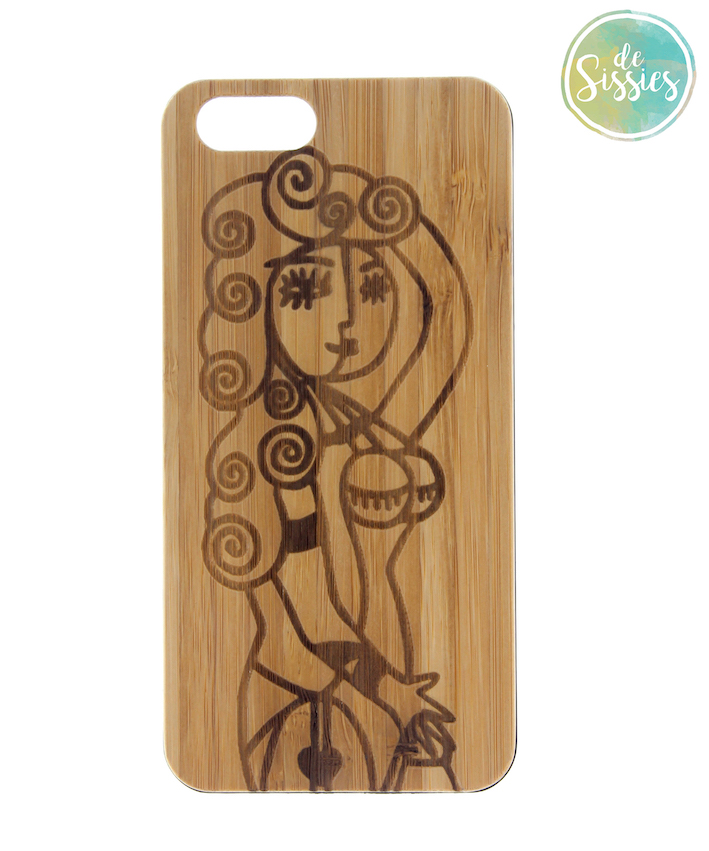 Houten Sissies phone case