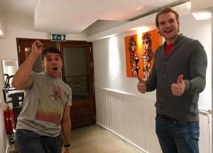 Michiel & Jordi met Oranje Boven