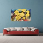 Butterfly fish in interieur